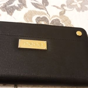 Bebe black wallet new paid 49